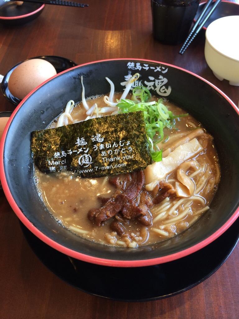 京都の久世に徳島ラーメン「麺魂」が出来ました!