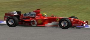 セナがフェラーリドライバーに憧れていた