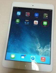 iPadでLINEを使う