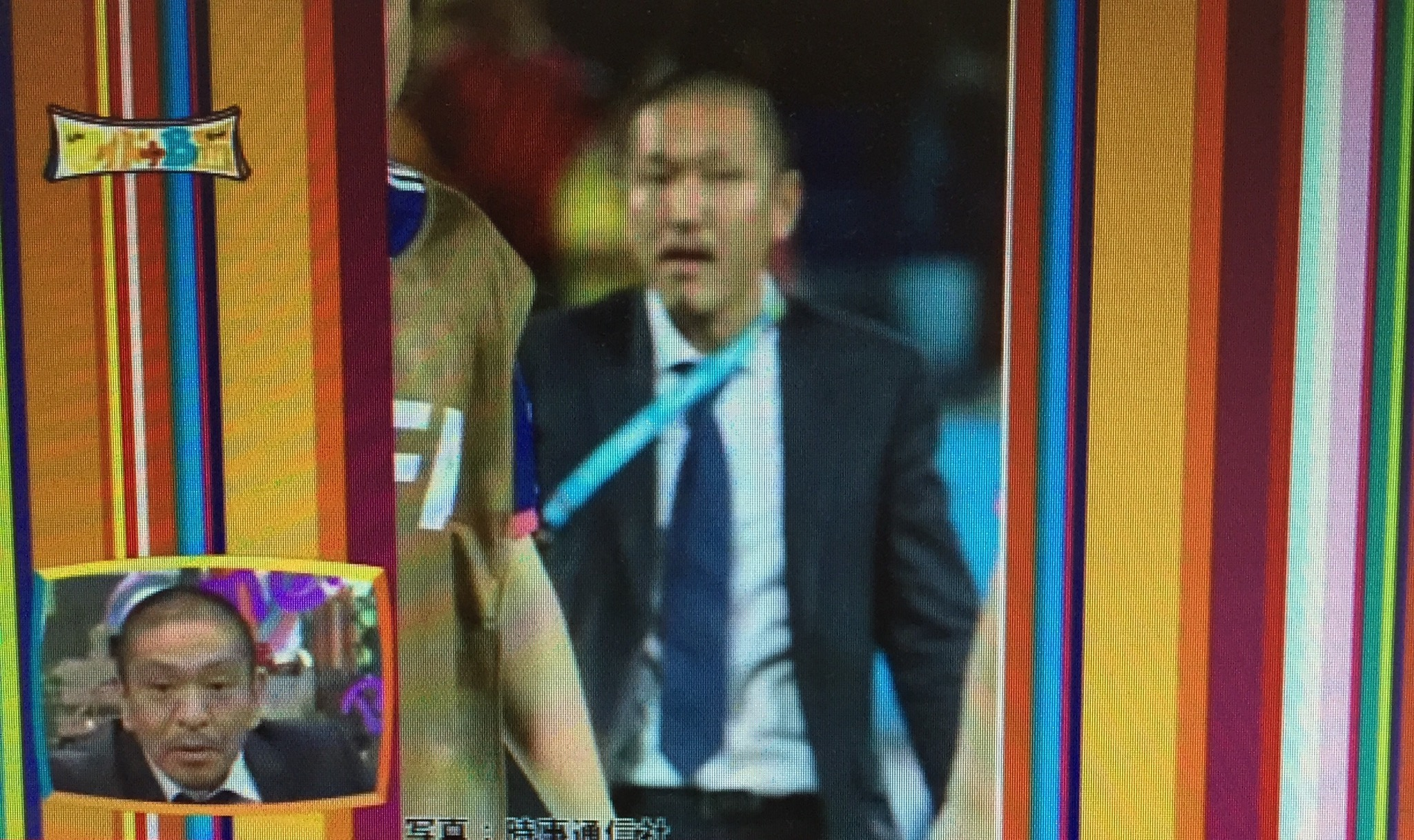 ブラジルワールドカップにダウンタウン松ちゃんにそっくりな人がいたぞ!