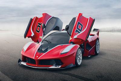 ラフェラーリのスーパーモデル「FXX K」が超絶に格好良いです!