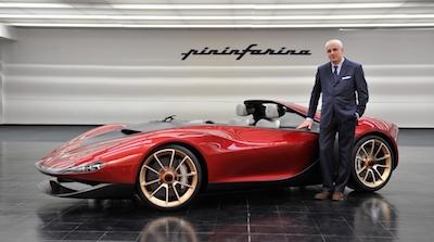 世界に6台しかない「フェラーリ・セルジオ」はアブダビに行けば見る事が出来るぞ!