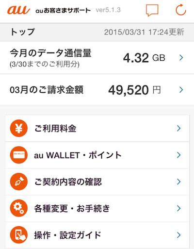 auのiPhone64GBユーザーはSIMフリーiPhone6の方がお得かも!