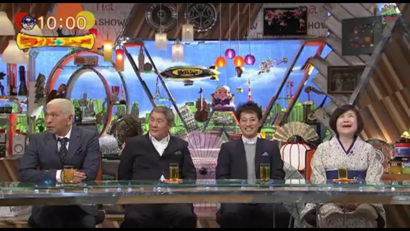 ワイドナショーにビートたけしが登場!松ちゃんとのトークが興味深すぎた!