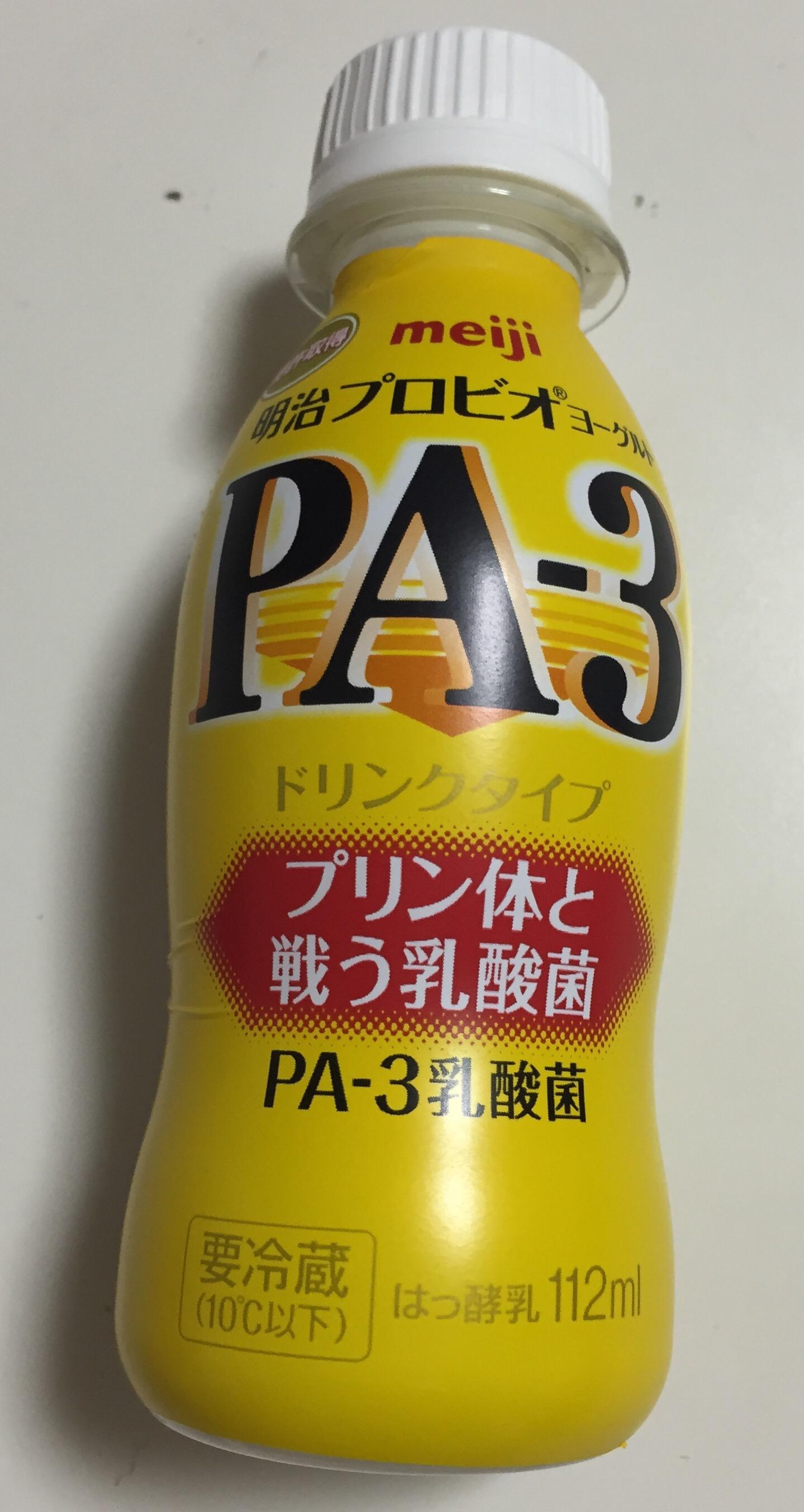 ビール好き親父に強い味方プリン体に効果的な「PA-3乳酸菌」が明治から発売されたぞ!