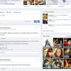Facebookがタイムラインのレイアウト簡素化のテスト
