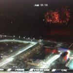 【幻想的サーキット】F1アブダビGPでもベッテルがドーナツターンを披露!