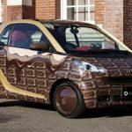 世界一美味しそうな車「スマートのチョコレート仕様」