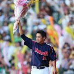 引退を決めた藤本に聖地甲子園のタイガースファンからも大声援!