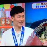 スノボー銅メダリスト平岡卓選手が「おはよう朝日」に生出演!
