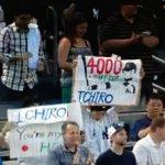 ムネリンの目の前で、イチロー日米通算4000本安打達成!