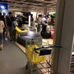 IKEAの配送料金はかなり高いので車で持って帰るのがベストです!