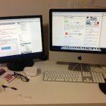 「Early2008 iMac」をデュアルモニタにする時にはポートに注意してください!