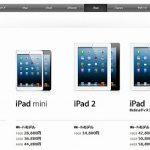 iPad mini予想外の大人気