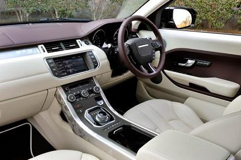 Range Rover Evoque >> レンジローバーイヴォークは内装も良い