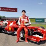 小林可夢偉がフェラーリ「F10」をドライブしたぞ!