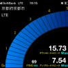 京都市南区のソフトバンクのLTEスピード~JR桂川駅~2012/12/07
