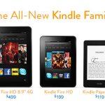 Amazon~Kindleシリーズの日本発売決定~11月19日開始