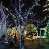 京セラ本社のクリスマスイルミネーション~本社入口~