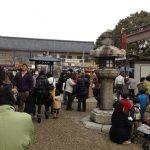 新撰組発祥の地「壬生寺」の節分祭