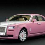 ピンクのクラウンに続き、次はピンクのロールスロイスが登場!