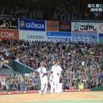 因縁の対決再び!星野楽天VS巨人の日本シリーズに決定!
