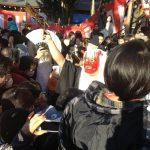 吉田神社の節分祭は50万人来るぞー!
