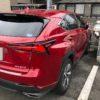 レクサスNXは赤色が似合います!